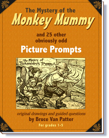 Product picture The Mystery of the Mummy Monkey and other Picture Prompts